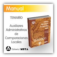 Manual para Auxiliares Administrativos de Corporaciones Locales